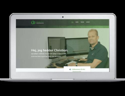 Ordblindementorens nye hjemmeside